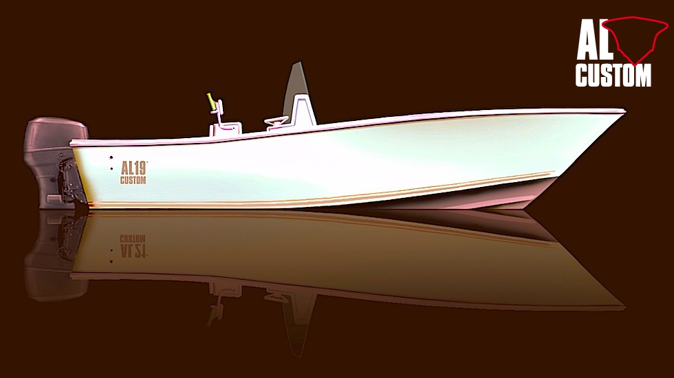 Rendering fisherman AL CUSTOM AL19