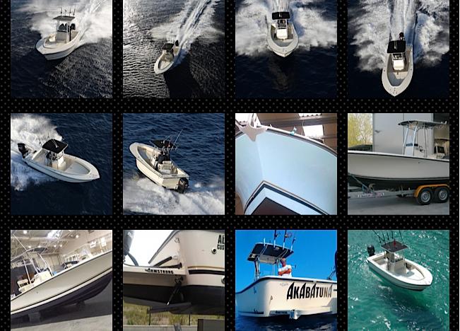 i fisherman di Andrea Lia: AL CUSTOM AL19, AL CUSTOM AL21, AL CUSTOM AL25, AL CUSTOM AL30