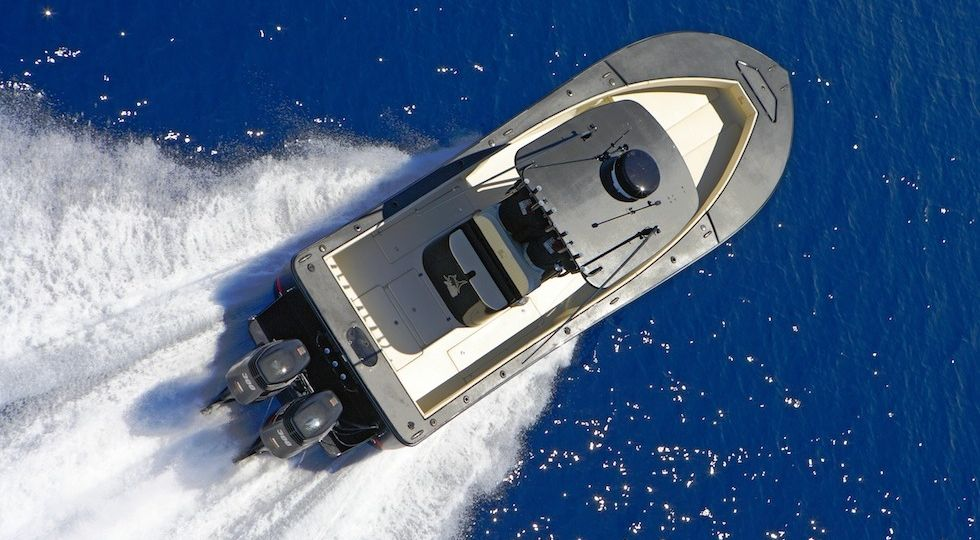 Fisherman ALCUSTOM AL19. Andrea Lia fishing boa30