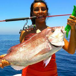 Dentice corazziere: pesca ad inchiku su alti fondali.