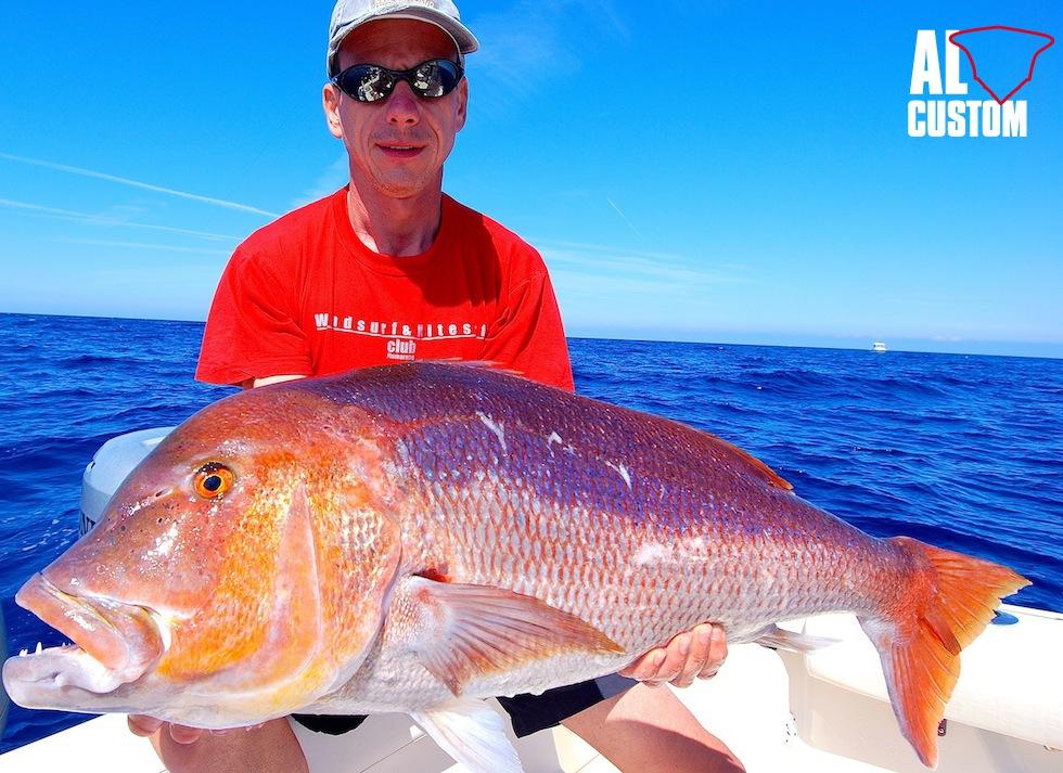 Nella pesca a traina col vivo il dentice, specie se di grande taglia, è la preda ambita da moltissimi fisherman.