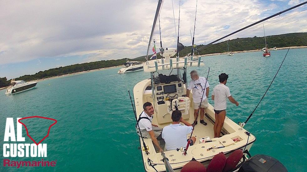Tournament Team AL Custom - Raymarine: AL25 all'isola di Lussino (Croazia) per rifornimento viveri e carburante.