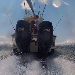 il Tournament Team AL CUSTOM - Raymarine in viaggio per partecipare all'IGFA Offshore Challenge 2013 di Komiza.