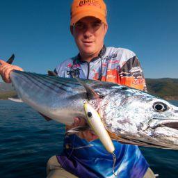 Pesca con le esche artificiali.