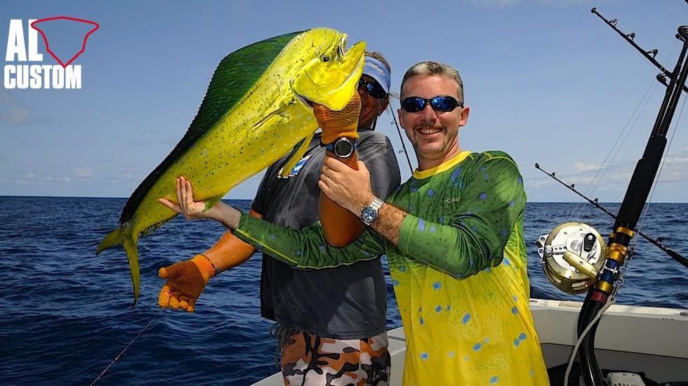 La lampuga incarna molte delle doti del gamefish perfetto: attacco agli artificiali a galla, strenua difesa, colori fantastici.