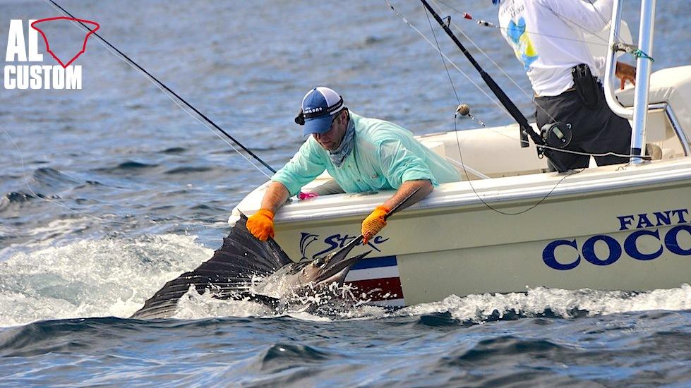 Pesca a mosca ai rostrati: pesce vela catch & release