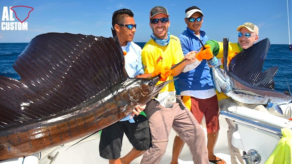 """Guatemala: hotspot per il pesce vela. In """"alta stagione"""" ogni barca che fa pesca sportiva libera un numero di pesci vela compreso fra 1200 e 2000!"""