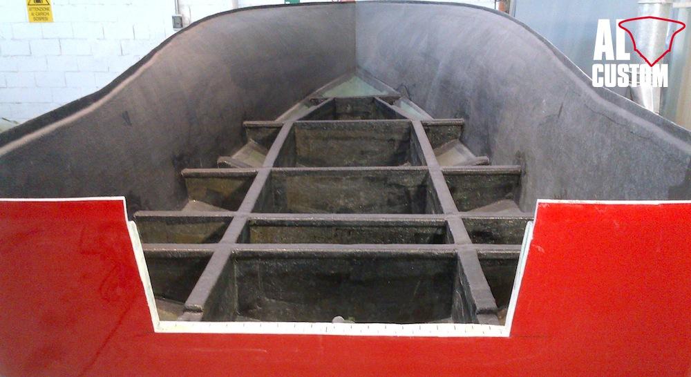 AL CUSTOM AL19 – Carbon Hull and bulkheads