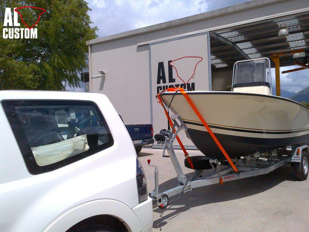 AL CUSTOM, AL19, sport fishing boat, Croazia