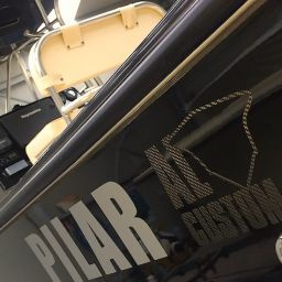 "AL25 ""Pilar"": fishing boat AL CUSTOM. Fisherman in carbonio ad alta tecnologia"