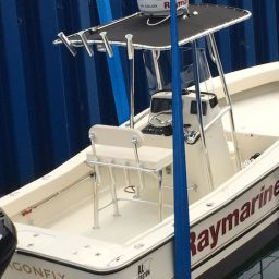 AL21, fishing boat AL CUSTOM, elettronica Raymarine, fuoribordo Suzuki