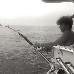 pesca su fishing boat AL CUSTOM AL25: drifting al tonno rosso