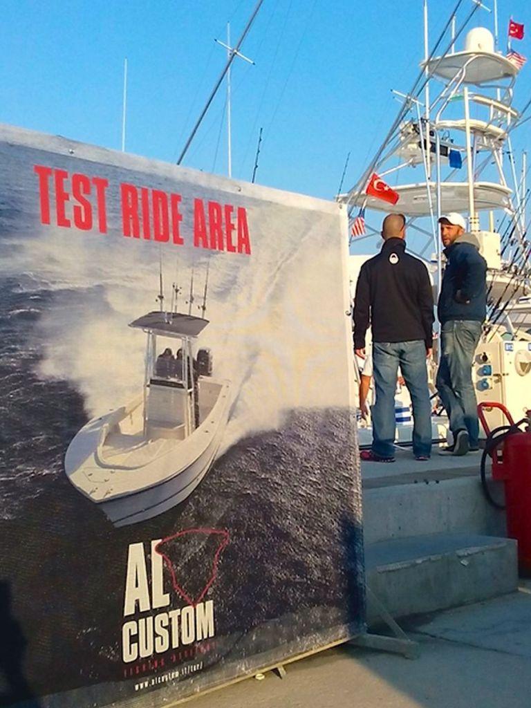 Alaçati International Fishing Tournament: l'area dei test ride dedicata ai fisherman AL CUSTOM