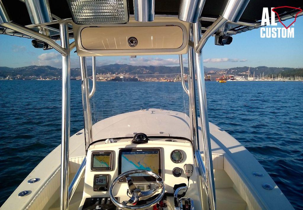 fisherman AL21 versione Cuddy: nuovo modello AL CUSTOM. Fishing boat ad alte prestazioni.