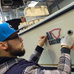 AL CUSTOM AL25 Portofino: la fishing boat del cantiere guidato da Andrea Lia che verrà esposta all'Istanbil Boat Show 2015.