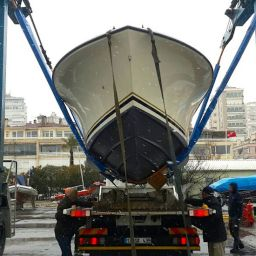 fishing boat AL CUSTOM AL25: pronto per l'Istanbul Boat Show (14 - 22 febbraio)