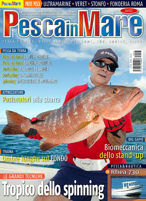 PESCA in MARE - Anteprima del numero di marzo 2015 in edicola
