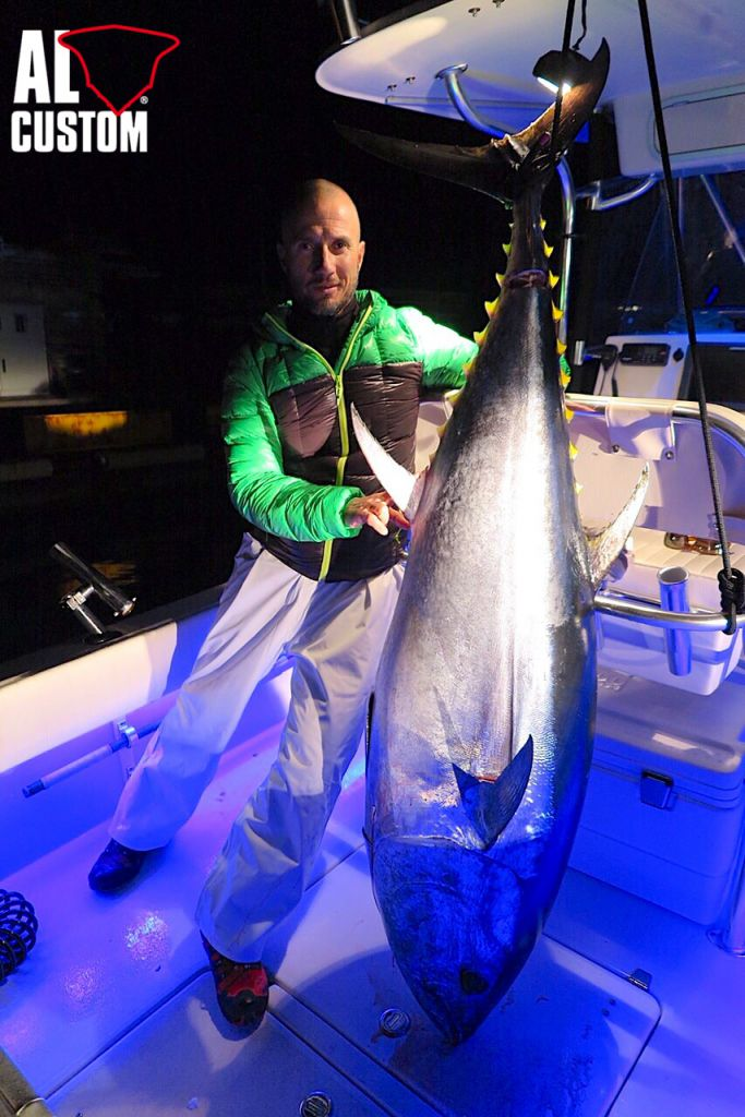 fishing boat AL CUSTOM AL25: drifting al tonno ad Alaçati (Turchia)