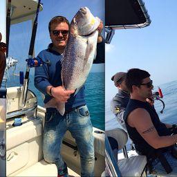 Fishing Attitude: ALCUSTOM in azione. Uscite di pesca in varie zone del Mediterraneo: spinning, traina col vivo, drifting.