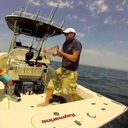 Fishing boat ALCUSTOM AL25: Nord Egeo, pesca a Light Jigging. Praio.