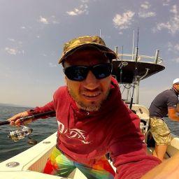 """Fishing boat AL25 """"Portofino"""": pesca a jigging. Immagini dalla GoPro montata a bordo del fisherman ALCUSTOM"""