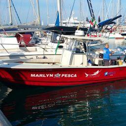 "Fishing boat ALCUSTOM AL25 ""Denise"": fisherman in fibra di carbonio."