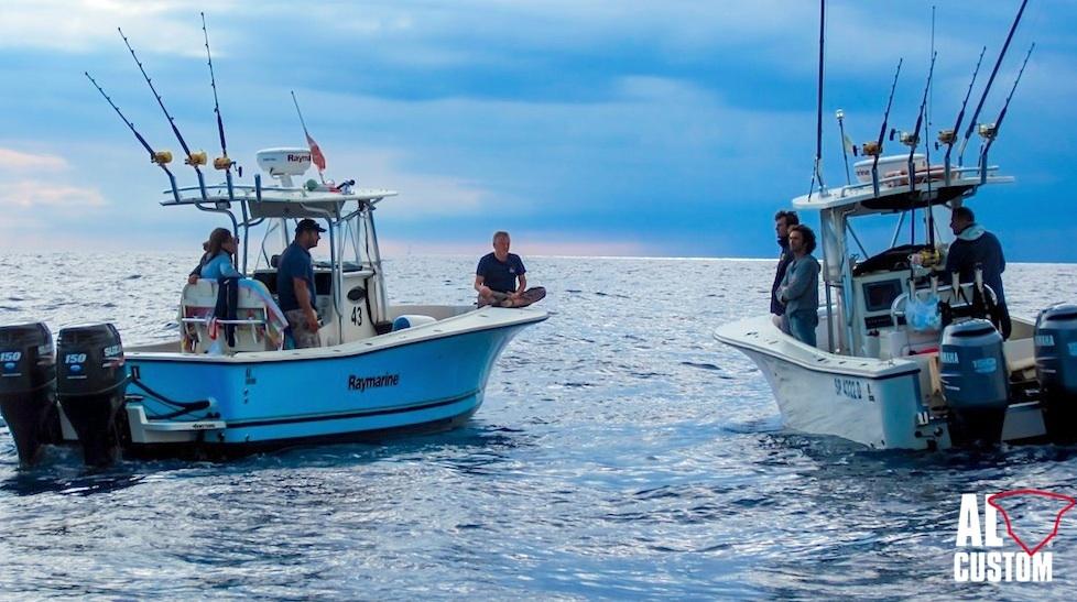 fishing boat AL25: due ALCUSTOM in gara al Tuna Festival Liguria, gara di drifting al tonno rosso.