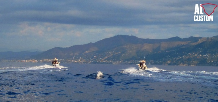 Due AL25 in gara al Tuna Festival Liguria, gara di drifting al tonno catch and release.