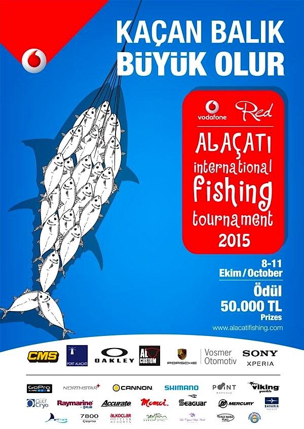 ALAÇATI INTERNATIONAL FISHING TOURNAMENT 2015