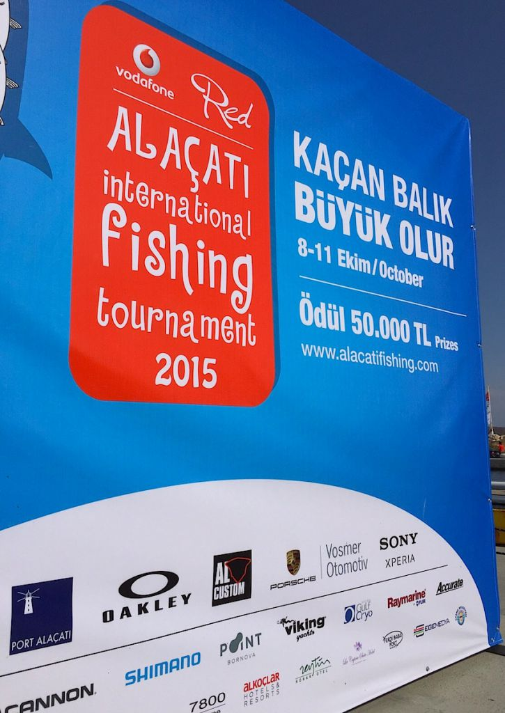 Alaçati International Fishing Tournament 2015: gara di traina d'altura e drifting