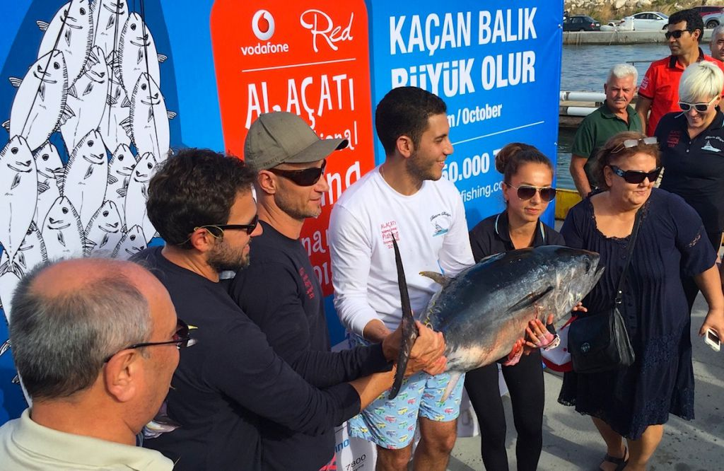 Alaçati International Fishing Tournament 2015