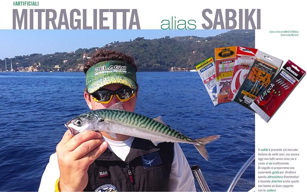 Pesca con le esche artificiali: il sabiki. Esca artificiale molto efficace se usata correttamente: vediamone i segreti.