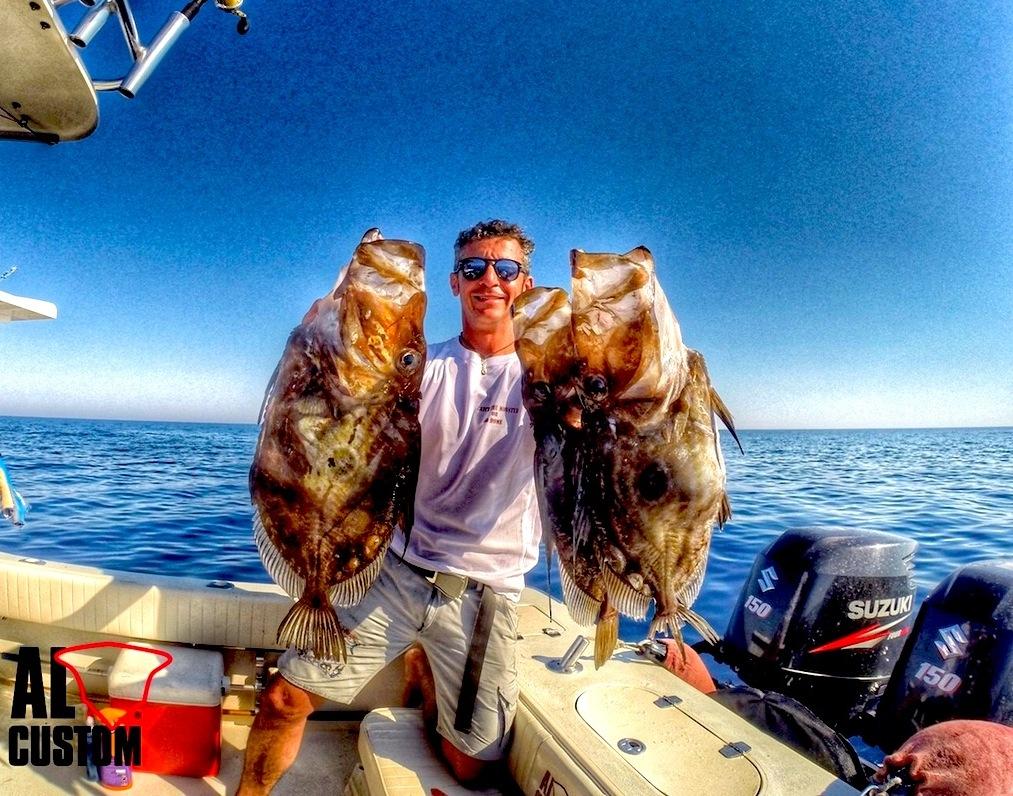 """ALCUSTOM AL25 """"Malefica"""": pesca ad inchiku in Croazia. Splendidi San Pietro."""