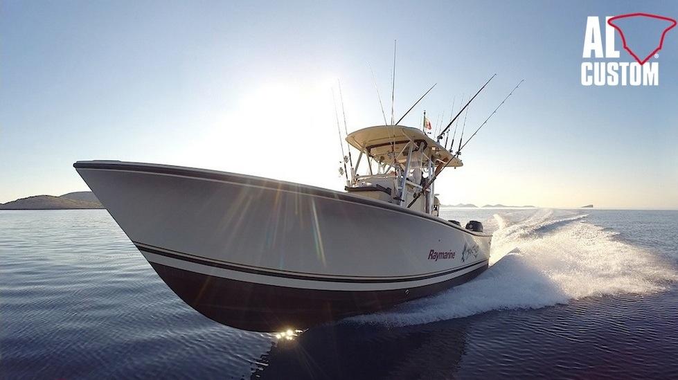 Fishing boat ALCUSTOM AL25 Malefica, da Trieste all'isola di Dugi Otok (Croazia): viaggio di pesca.