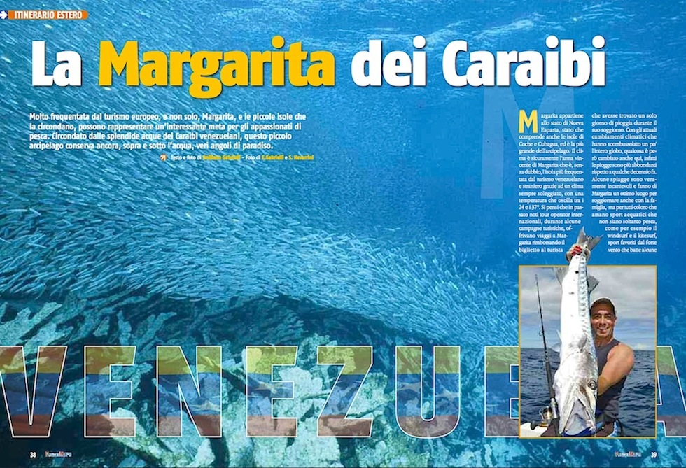 Viaggi di pesca: a pesca nei Caraibi. Venezuela l'isola Margarita