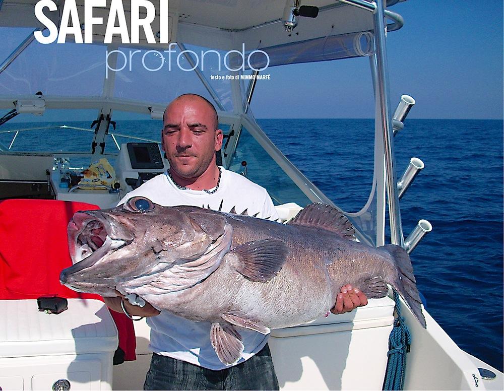 Bolentino di profondità: la cernia. Fishing tackle e tecnica di pesca per insidiare i grandi predatori.