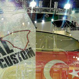 fishing boat ALCUSTOM AL25 all'Eurasia Boat Show di Istanbul