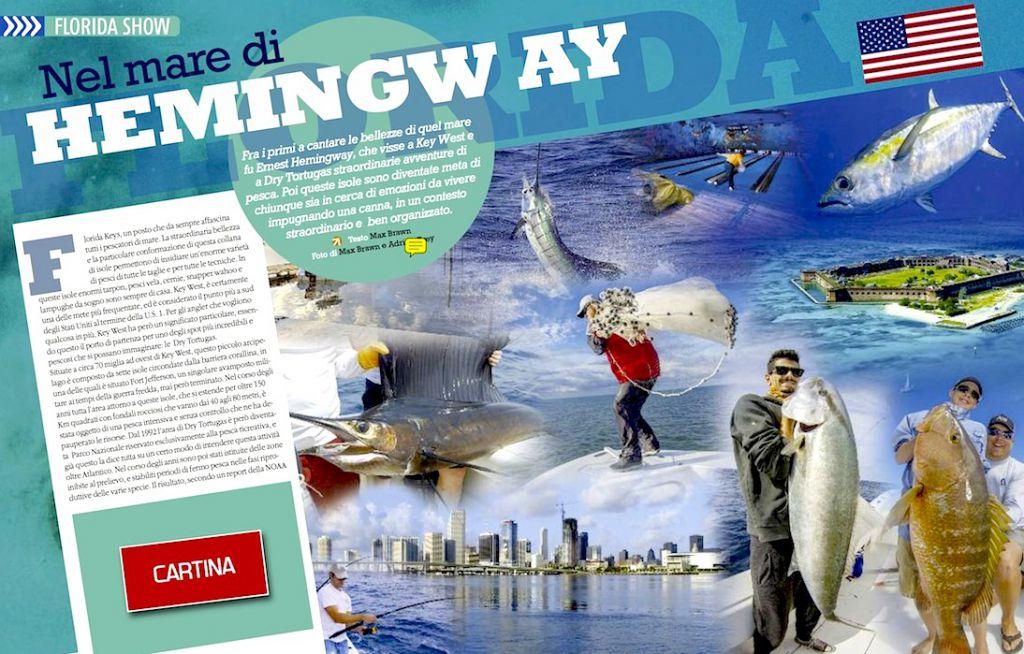 Viaggi di pesca: Florida. Pesca atraina nel mare di Hemingway. Pesca in Florida. Offshore fishing