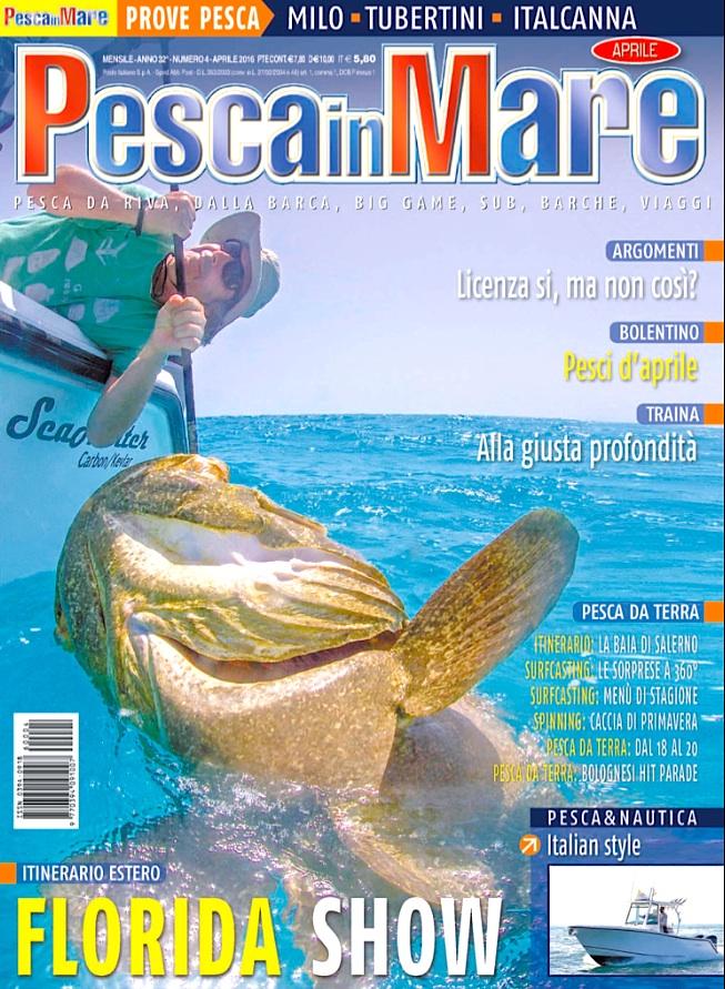 Pesca in Mare: rivista di pesca in mare. Traina, traina col vivo, vertical jigging, viaggi di pesca, fishing boat.