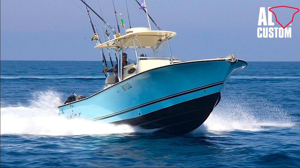 Fishing boat ALCUSTOM AL25