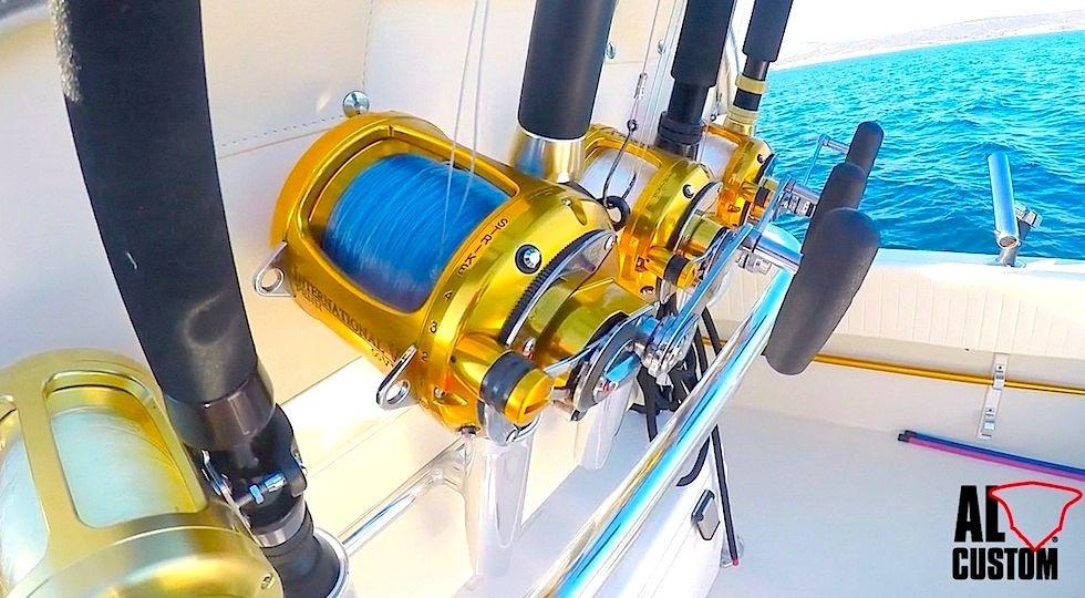 Fishing tackle su fishing boat ALCUSTOM AL25 Katana