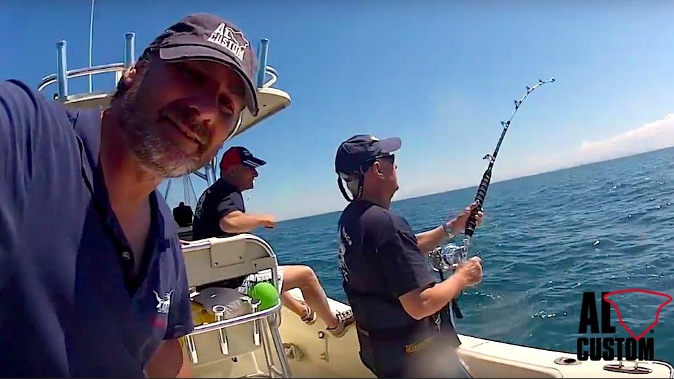 "Drifting al tonno sulla fishing boat ALCUSTOM AL25 ""Denise"""