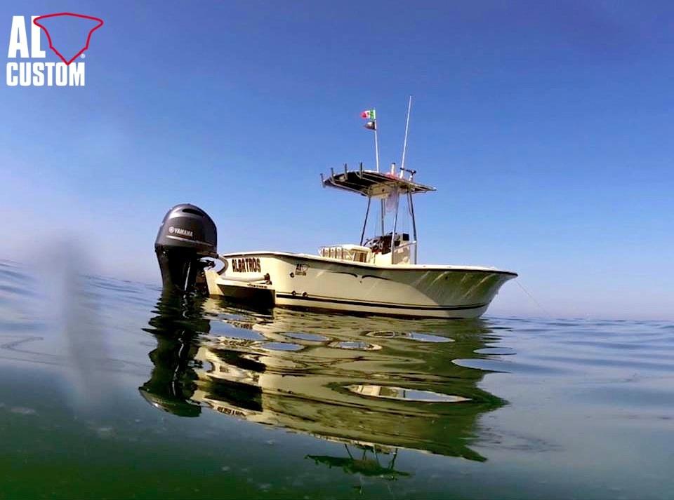 fishing boat ALCUSTOM AL21 Albatros: carolina flare, deep vee.