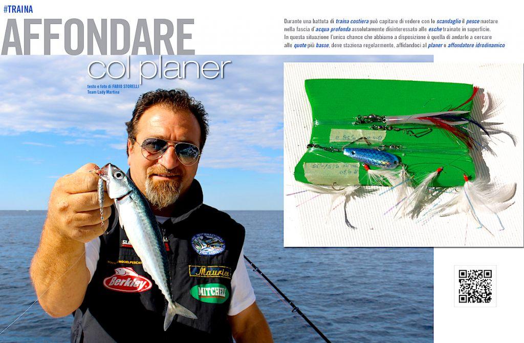 Traina costiera: l'uso dell'affondatore idrodinamico (planer)