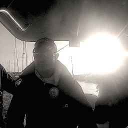 Fishing boat ALCUSTOM AL25 Denise, uscita a drifting al tonno in top shot