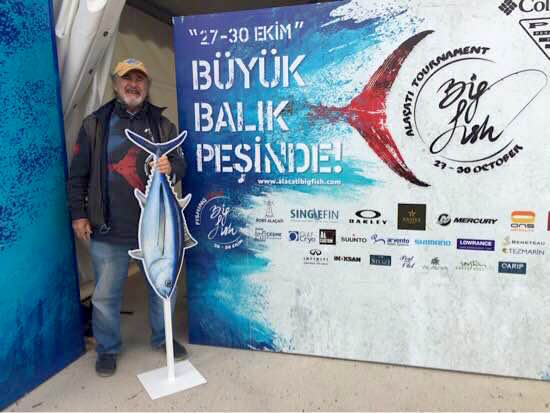 Alaçati Big Fish Tournament: Paolo Sala, rappresentatnte I.G.F.A.