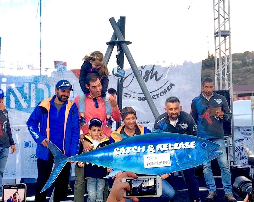 """Alaçati Big Fish Tournament, gara di pesca d'altura in Turchia. La premiazione del team dell'ALCUSTOM AL25 """"Portofino"""""""