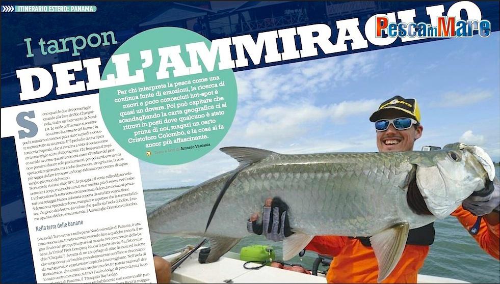 Viaggio di pesca a Panama alla ricerca di nuovi hot spot per i tarpon