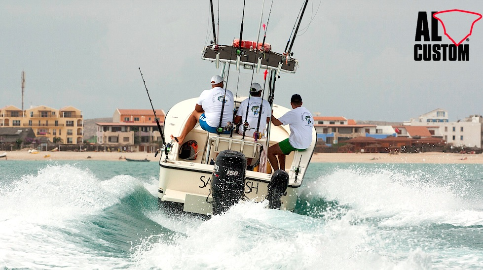 "Fishing boat ALCUSTOM AL21 ""Sampeifish"", di base a Boa Vista (Capo Verde)"