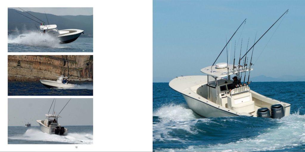 ALCUSTOM: barche da pesca in fibra di carbonio ideate da Andrea Lia.